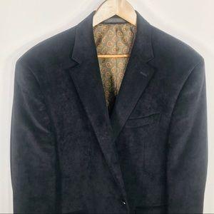 Chaps Corduroy Dark Brown Blazer 46R Ralph Lauren